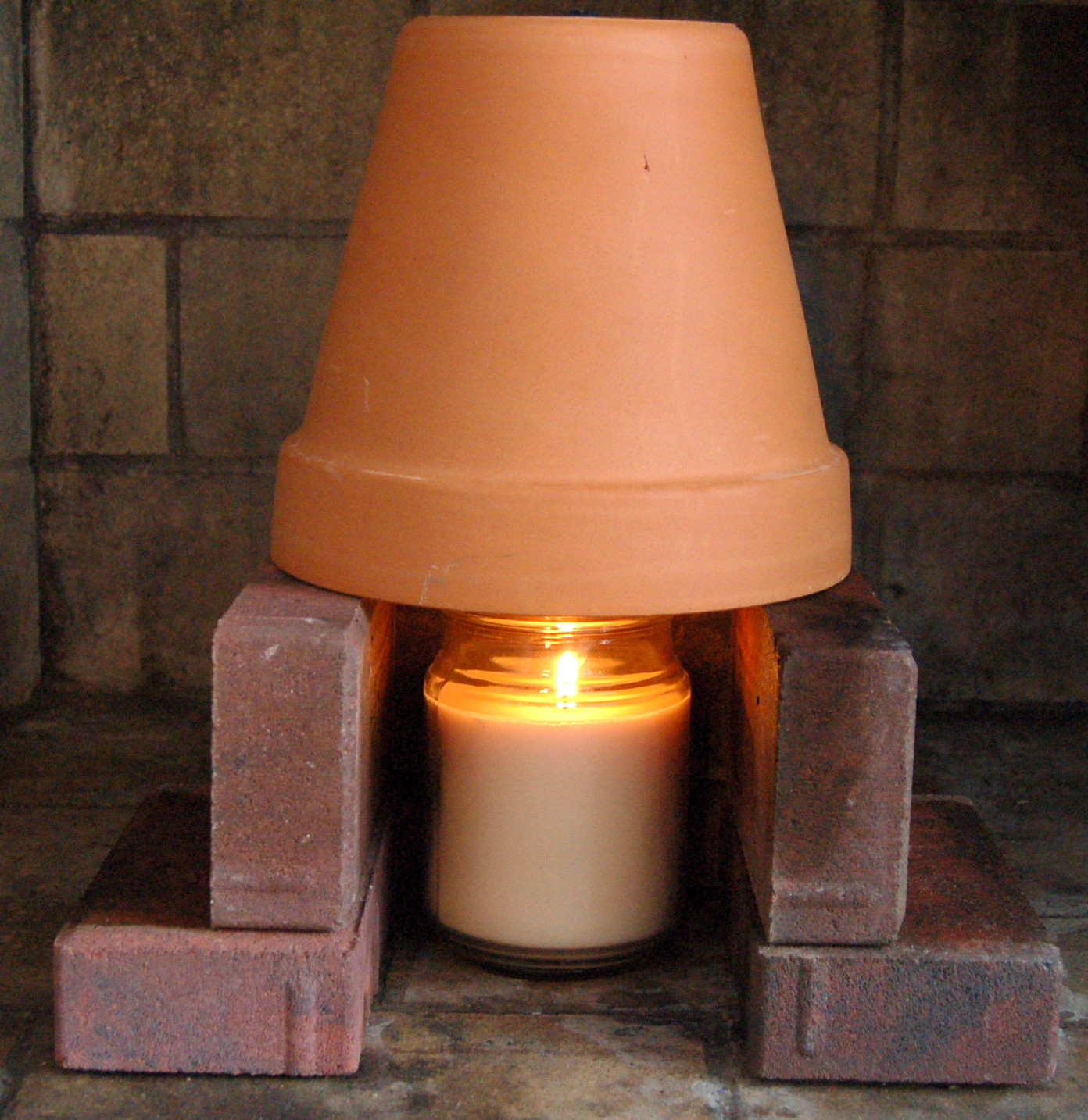 DIY Terracotta Heater for added warmth in your home