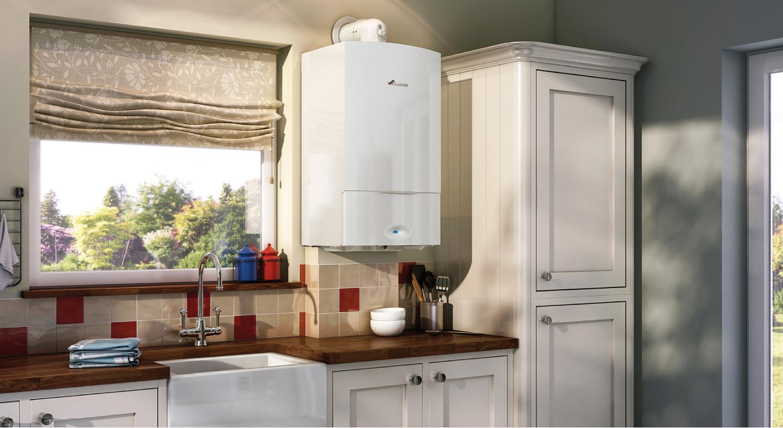 boiler in kitchen