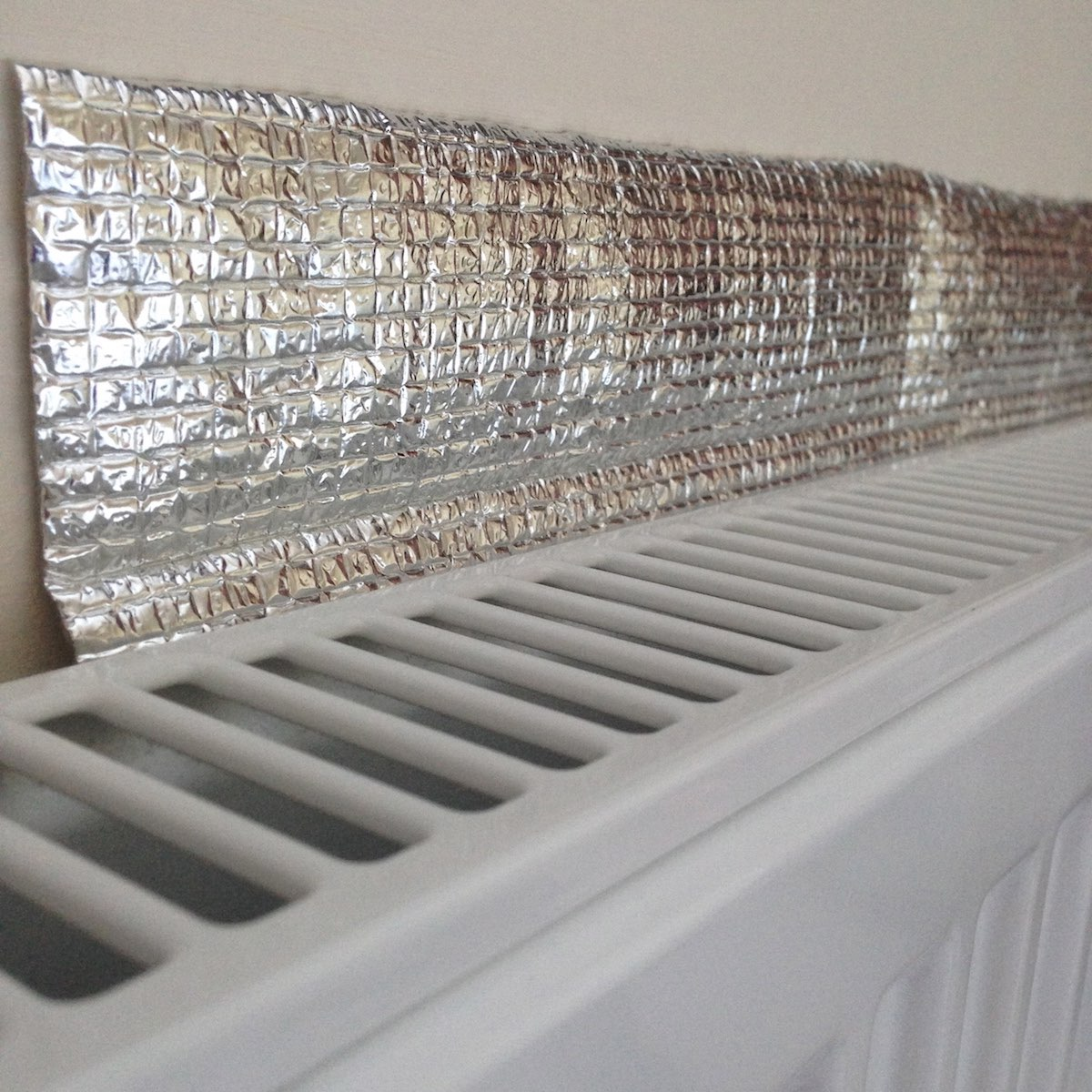radiator foil in home