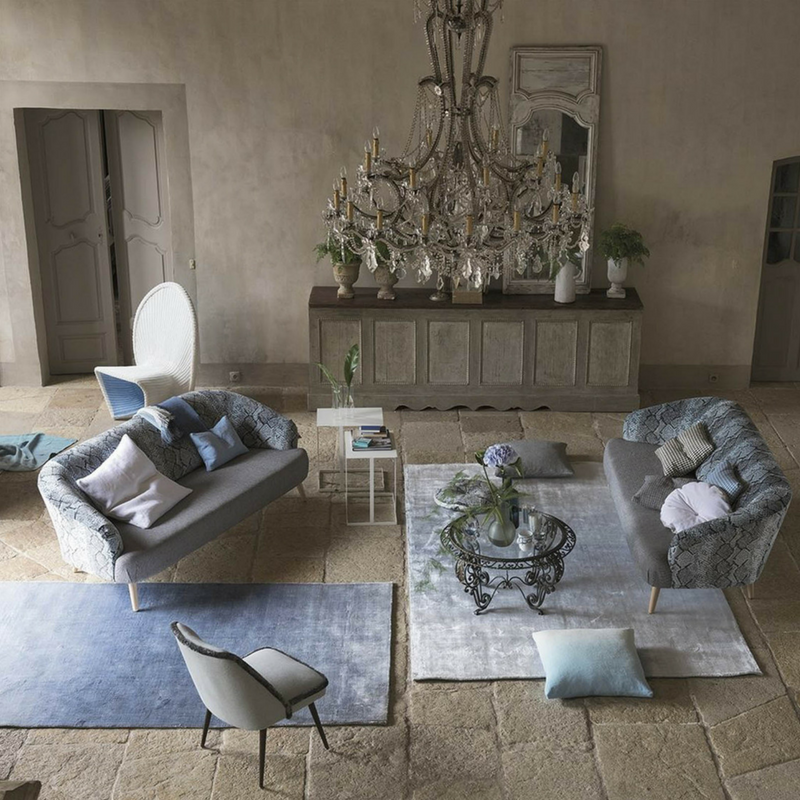 Phipps Sky Rug by Designers Guild