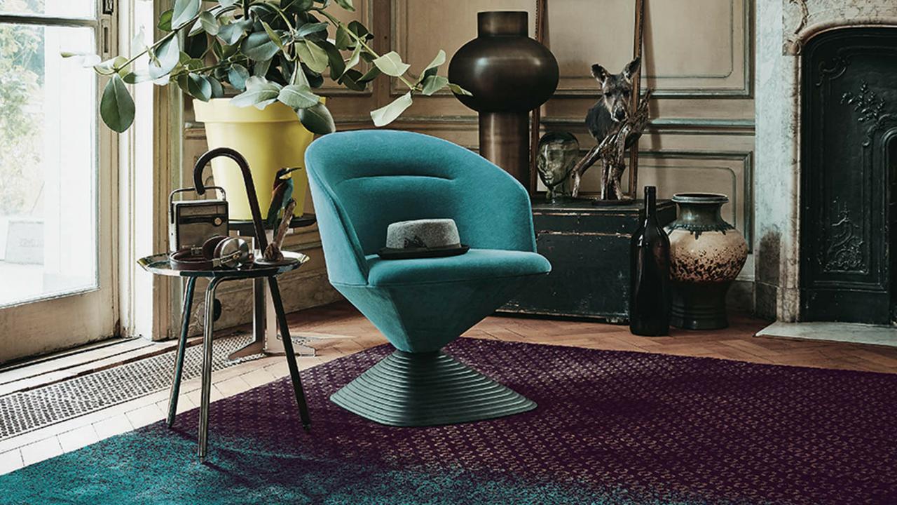 Dipgeo living room rug