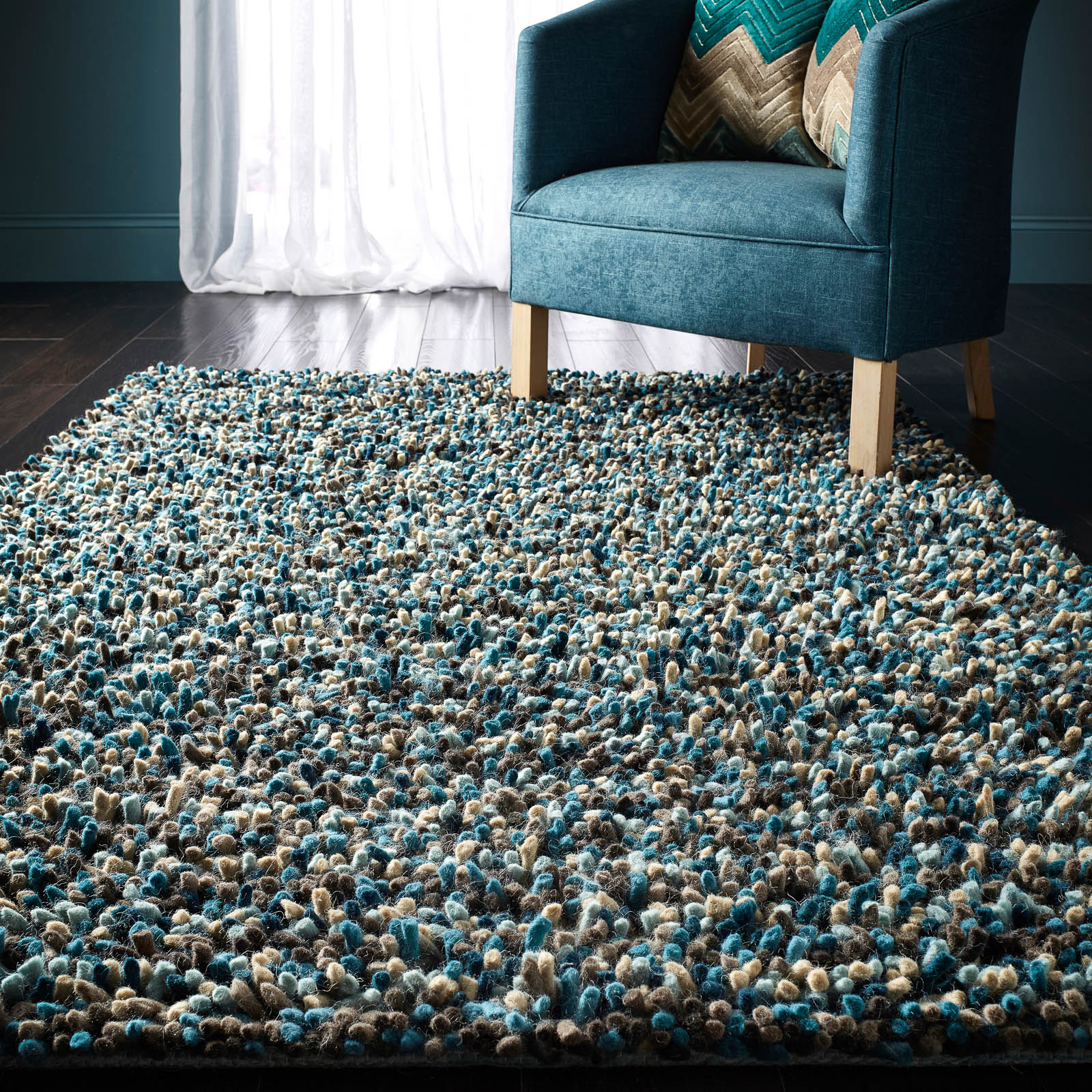 Rocks Shaggy rug