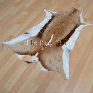Springbok Hide Brown white