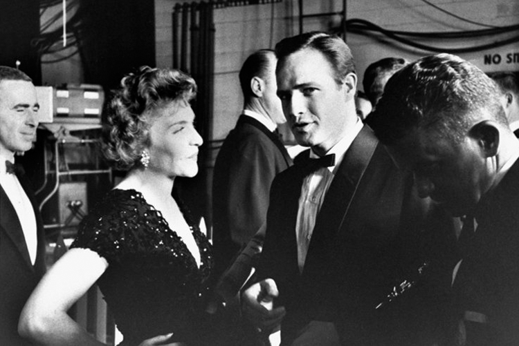 marlon brando at the 1961 academy awards