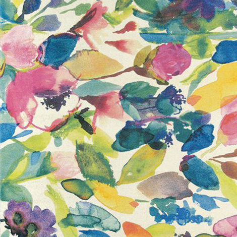 Fiona Douglas' artwork, Watercolour floral print