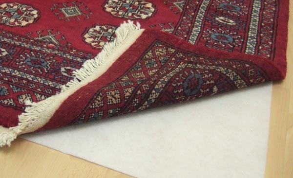 Anti-Slip Underlay rug care guide
