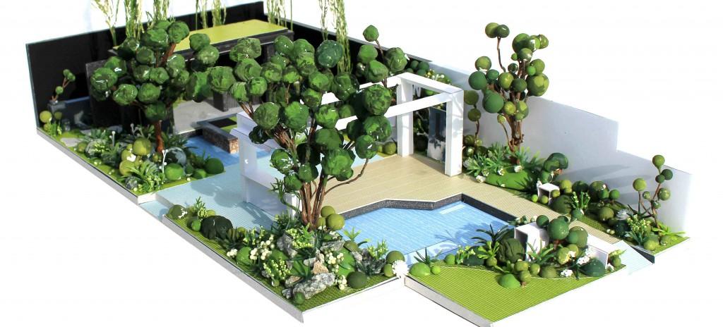 The Watahan East & West Garden The Chelsea Flower show 2016 garden design