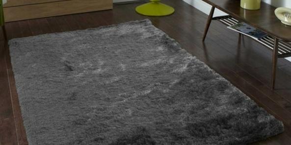 colour trend for 2017 denim blue complementary grey rug on dark wooden floor