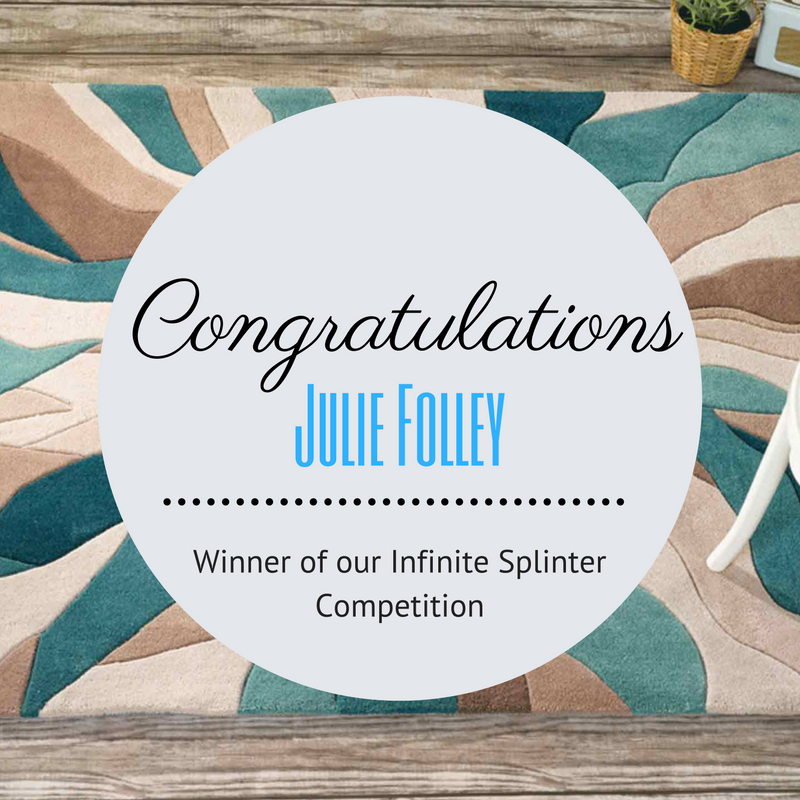 teal infinite spliter rug september competition featured image