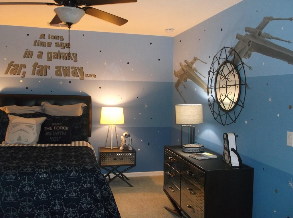 Creative Kids BEdrooms Star Wars Themed Teen Room