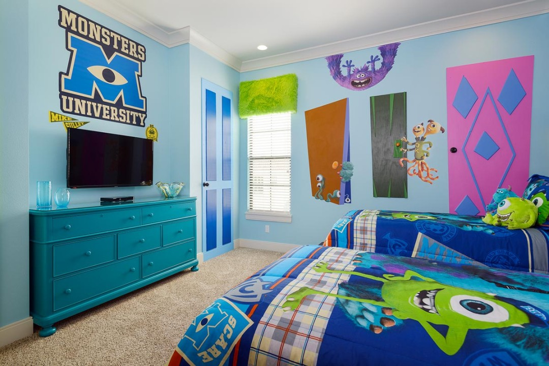 Creative Kids Bedrooms Disneys Monsters University Inspired Bedroom Accessories