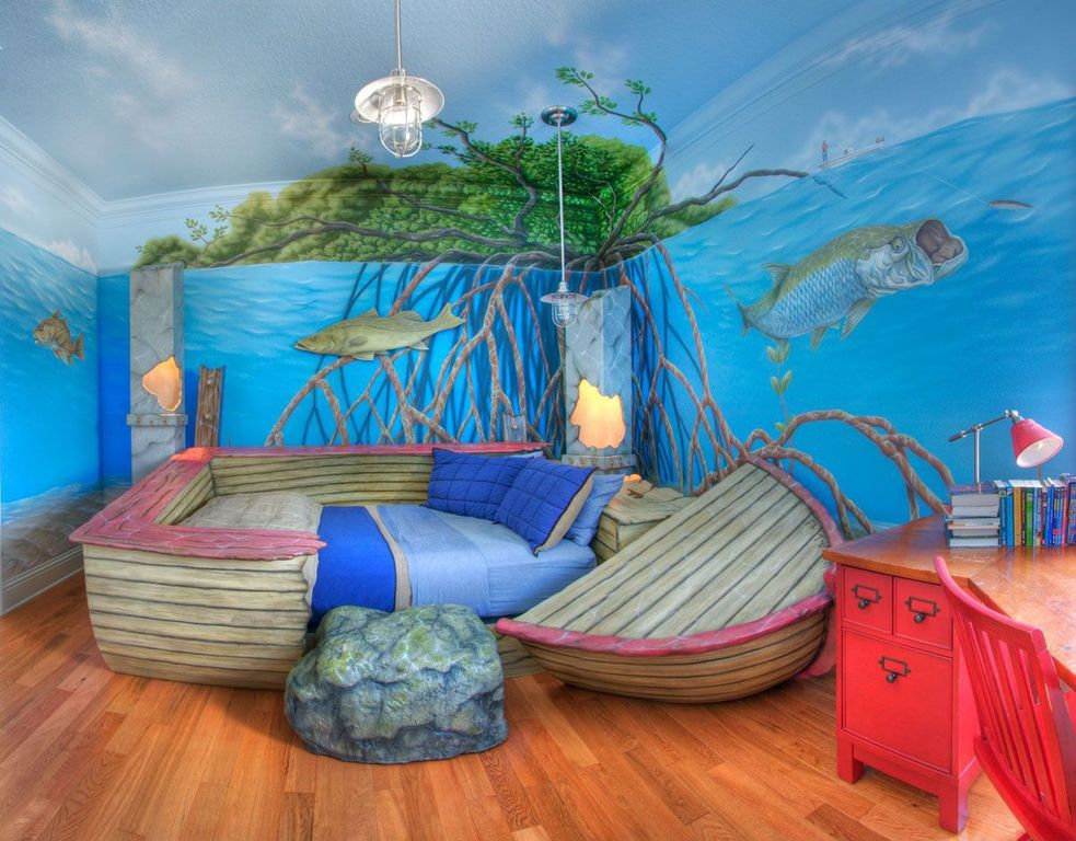 Creative Kids Bedrooms Under The Sea Inspired Room