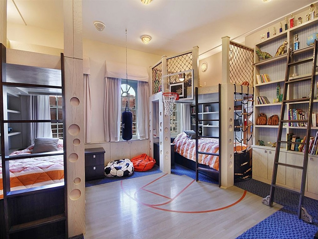 Creative Kids Bedrooms Basketball Inspired Room