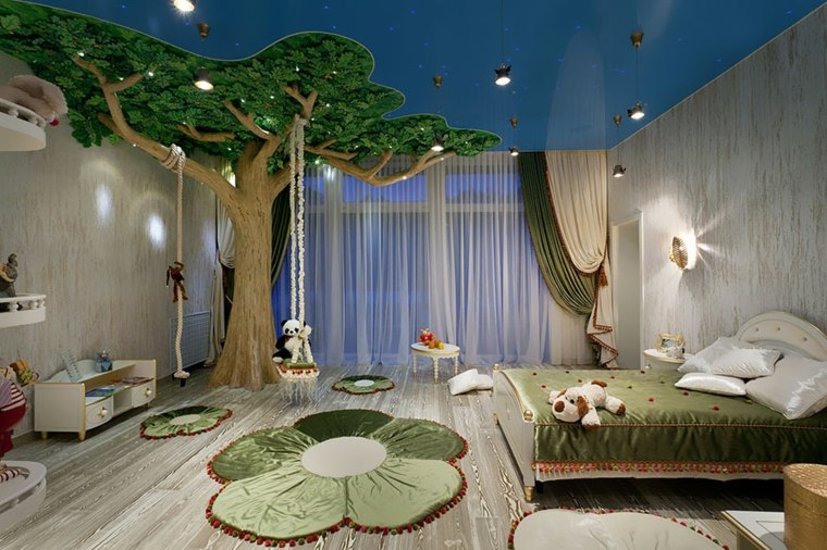 Creative Kids Bedroom Forest Inspired Room