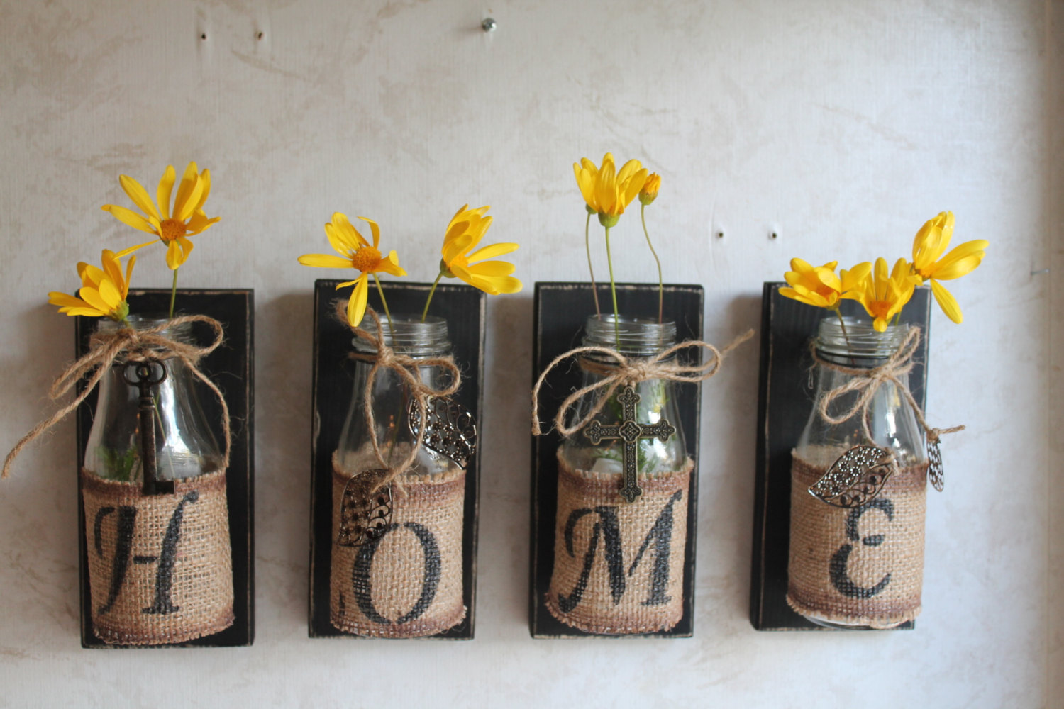Upcycle home plant jars