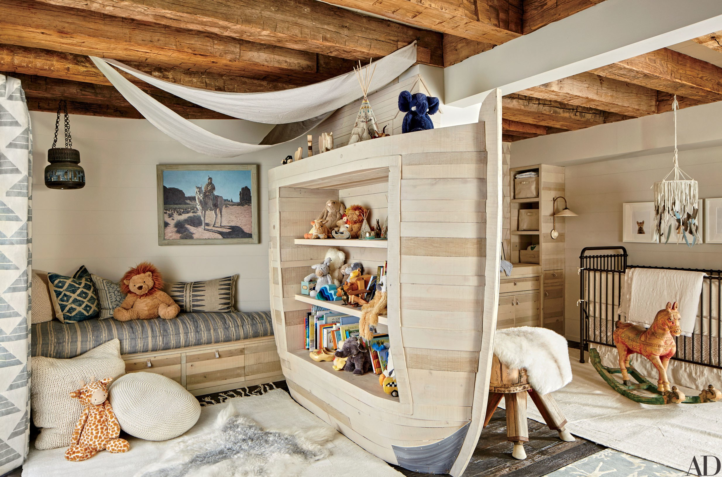 Creative Kids Bedrooms Noah's Ark Inspired Room
