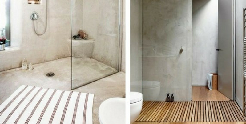 concrete furniture concrete bathrooms with transparent shower glass