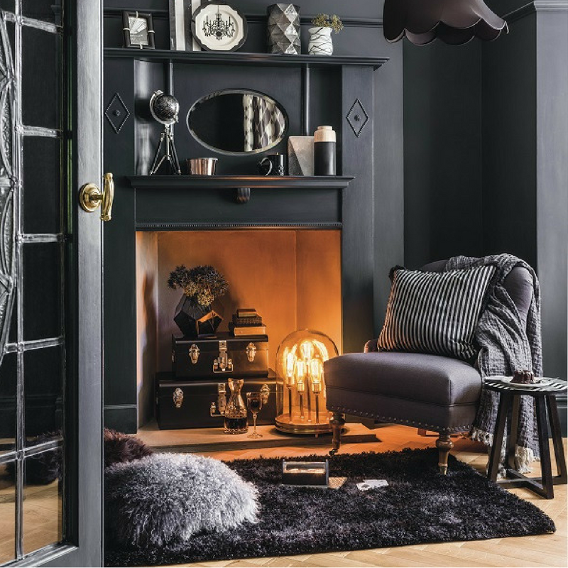 winter decorating ideas light a fire