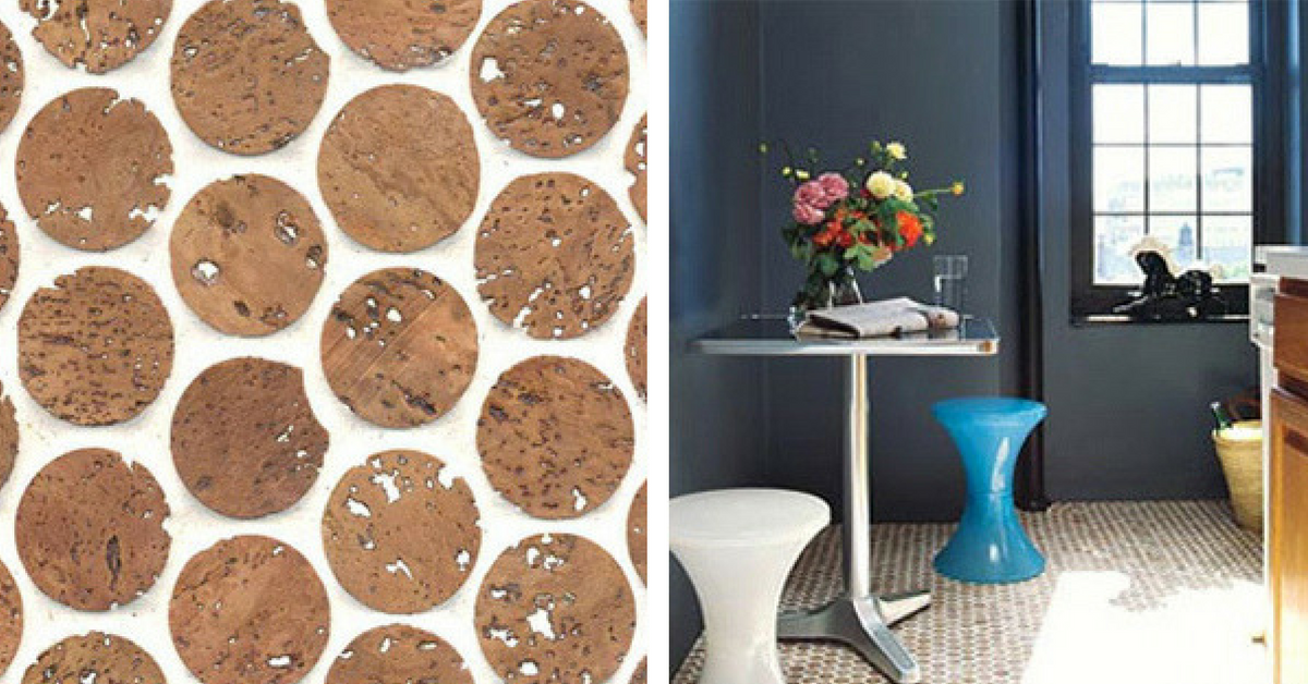 interior design trend cork flooring