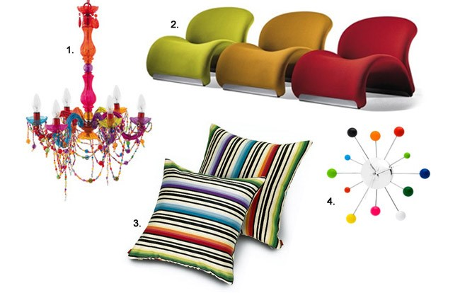 playful interiors colourful room accessories