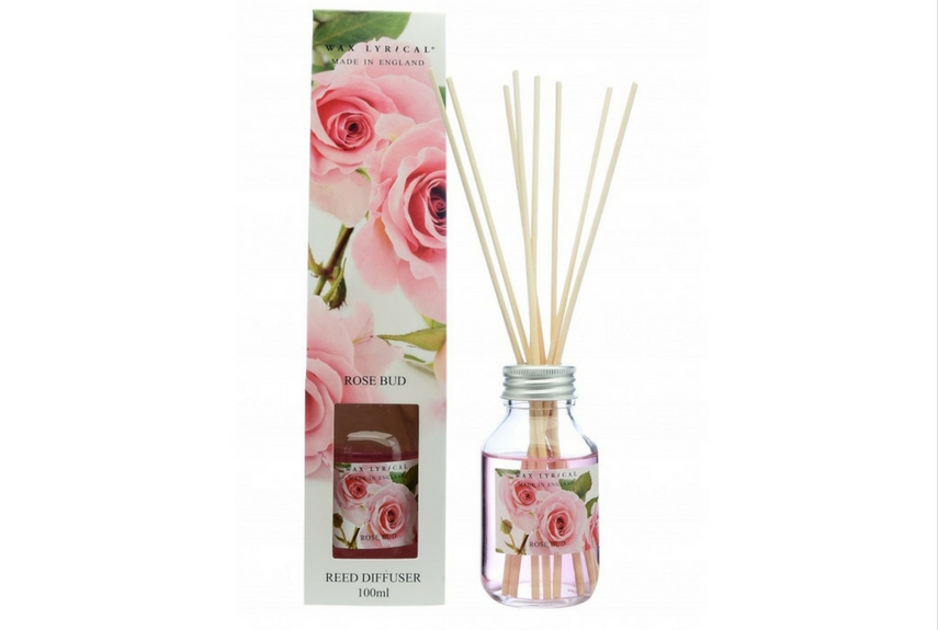 Valentine's day home decor Made in England Rose Bud 100ml Reed Diffuser