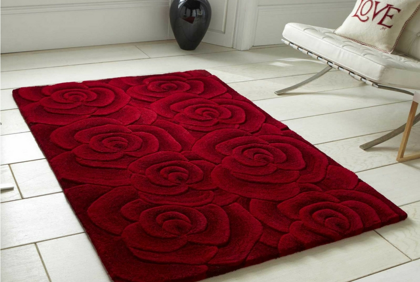 Valentine's day home decor Valentine Rugs