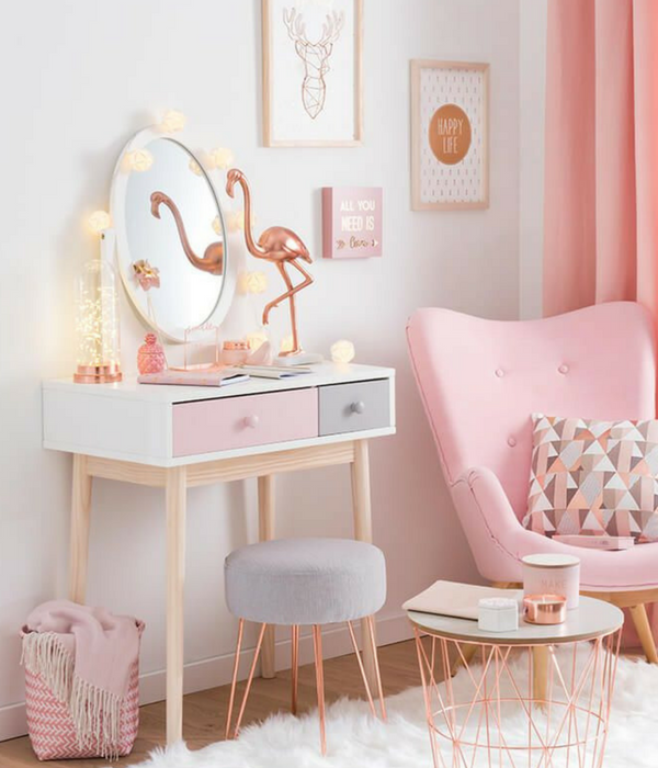 Home Inspiration Decorating With Blush Pink
