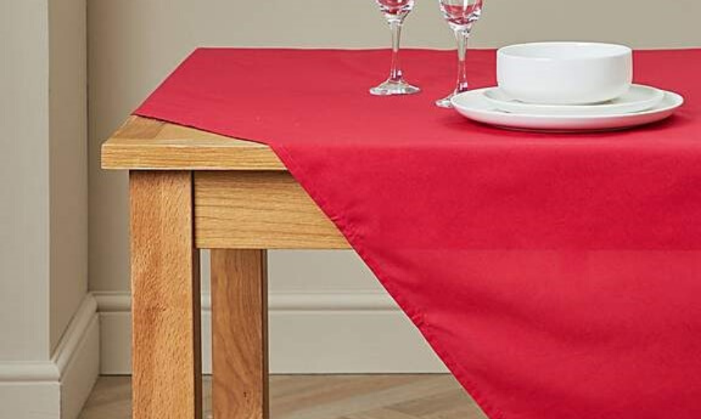 Valentine's day home decor Dunelm Spectrum Tablecloth