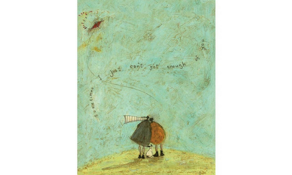 Valentine's day home decor Sam Toft Print