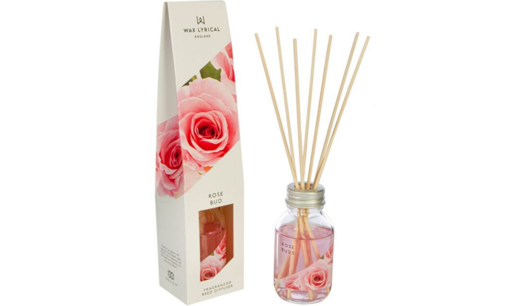 Valentine's day home decor Wax Lyrical Rose Bud Diffuser
