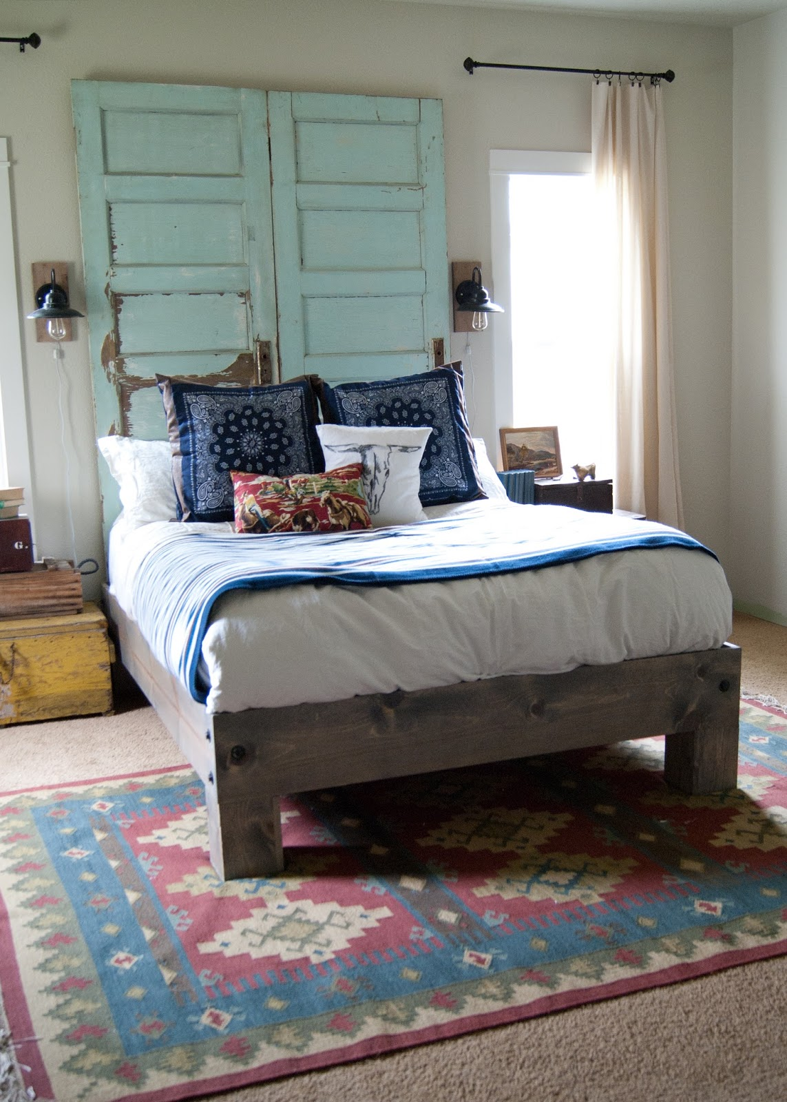 Modernise Your Bedroom With A Simple Headboard Transformation The Rug Seller Blog