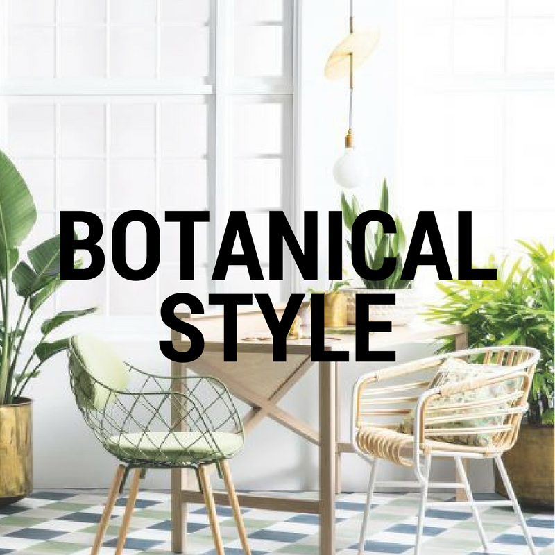 botanical interior style featured image