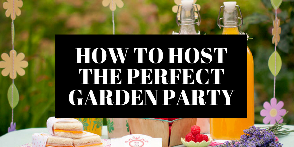 how to host the perfect garden party banner image