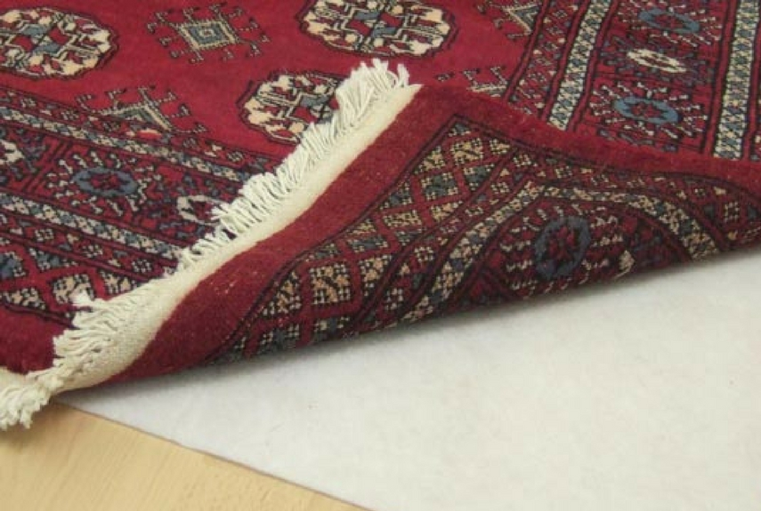 natural fibre rugs anti slip underlay