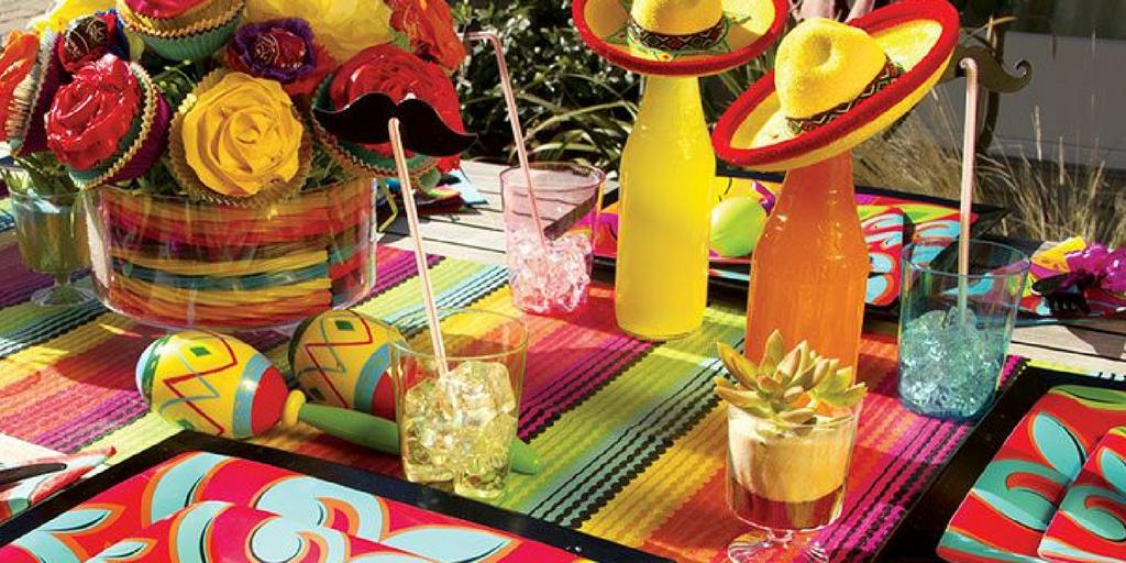 garden party Mexican theme