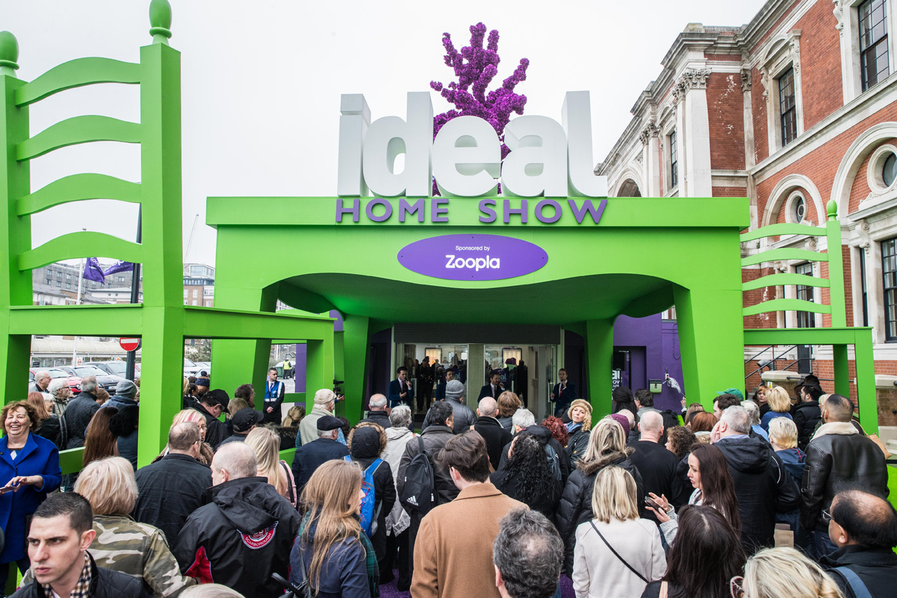 ideal home show 2017 the entrance