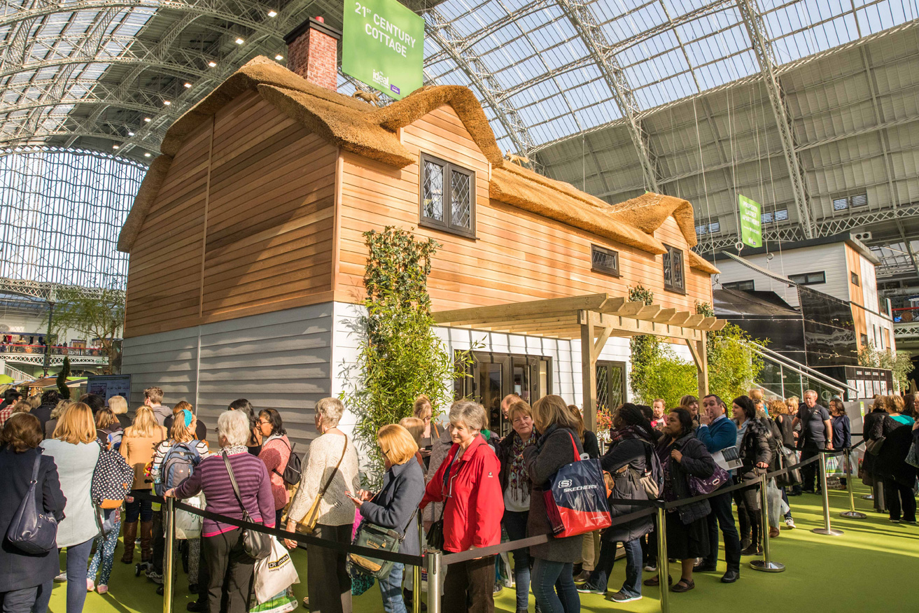 ideal home show 2017 21st century cottage
