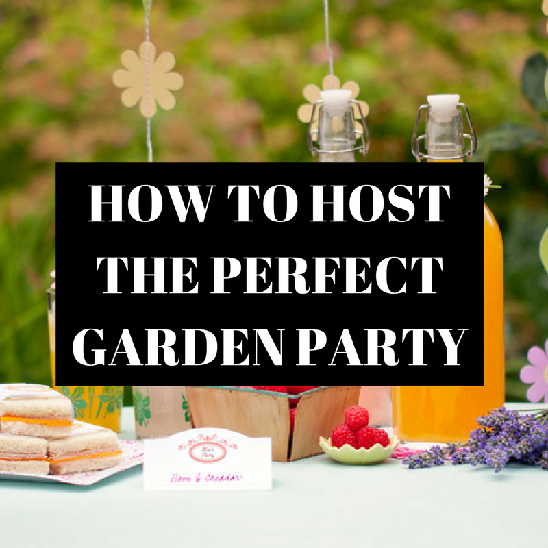 how to host the perfect garden party featured image