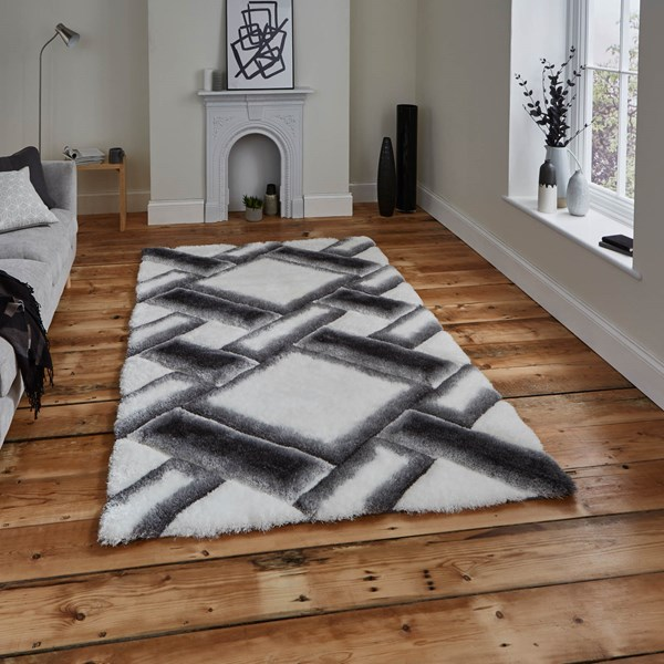 Noble house rugs nh 9716 in grey ivory