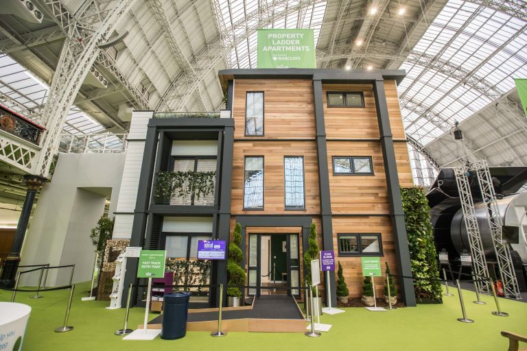 ideal home show 2017 model show homes