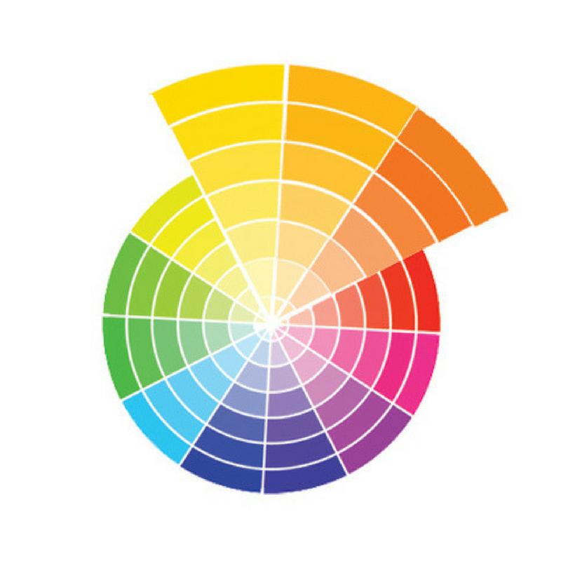 analogue colour wheel