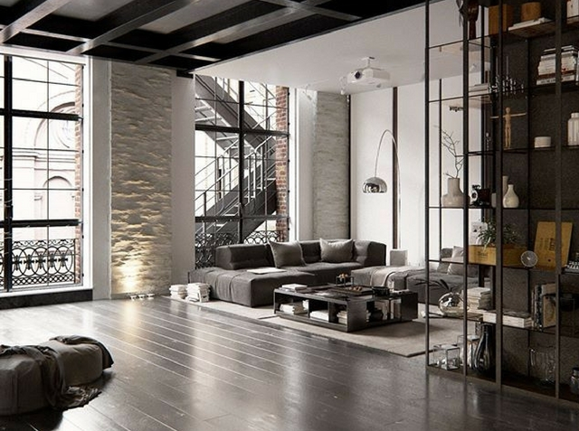 open space loft space