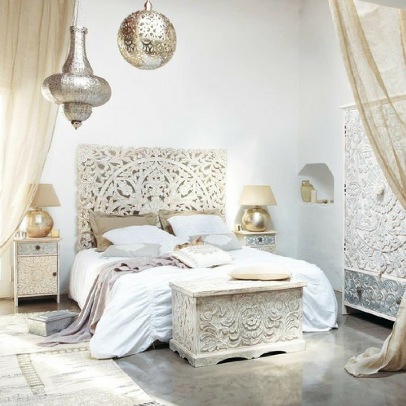 games of thrones style gold and silver bedroom