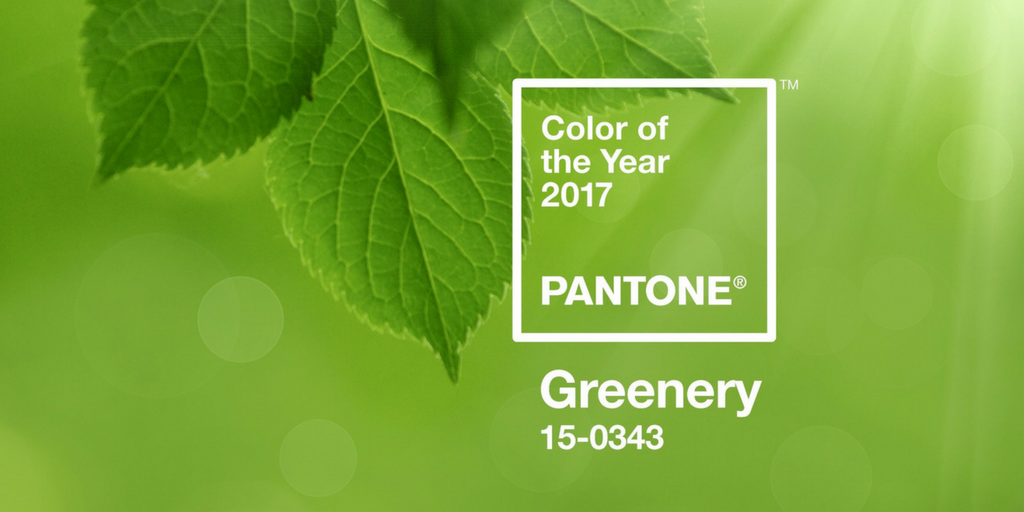pantones 2018 colour trend greenery