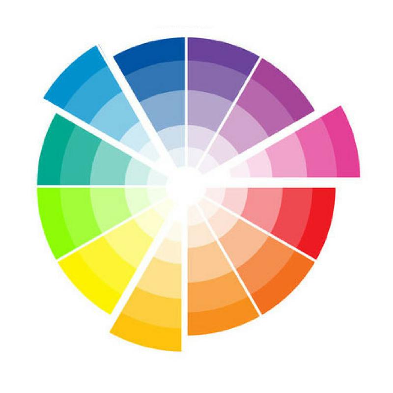 triad colour wheel