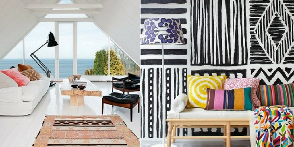 summer hottest interior trends tribal theme