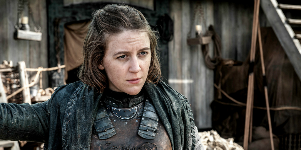 Yara Greyjoy from game of thrones