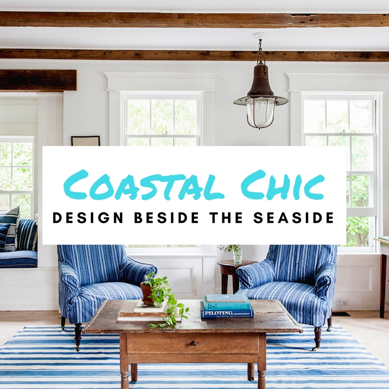 coastal chic interior design featured image