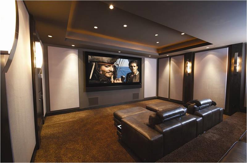 Cinema Man Cave