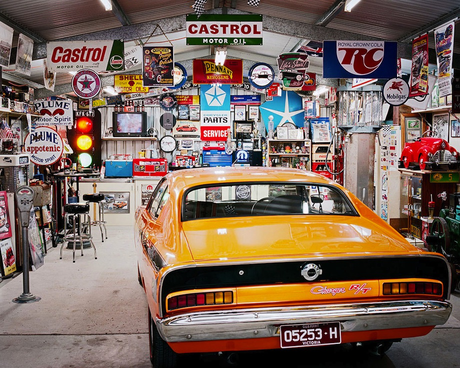 car garage man cave